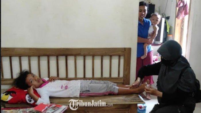 Kaki Bocah SD di Kota Blitar Tertimpa Atap Rumah Saat Gempa, Begini Kondisinya Sekarang