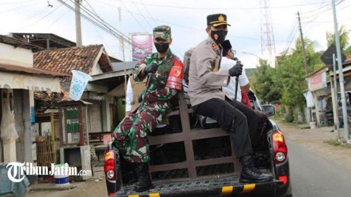 Bupati, Kapolres, Dandim Bangkalan Keliling Arosbaya-Geger, Ajak 'Selesaikan Bersama Covid-19'