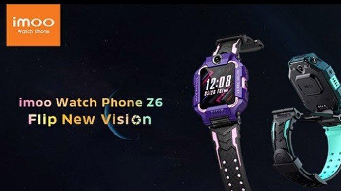 Imoo Watch Phone Z6, Jam Ponsel Pintar Inovasi Pertama di Indonesia, Berikut Harga & Spesifikasinya