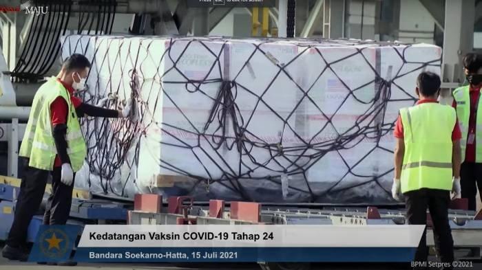 Indonesia Terima Tambahan 1,5 Juta Dosis Vaksin Moderna, Dubes Kim: Kontribusi AS Akhiri Pandemi