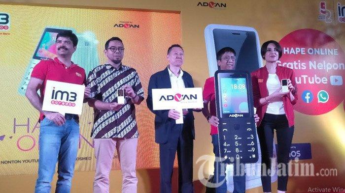 Gandeng Advan, Indosat Ooredoo Pasarkan Ponsel Fitur 4G untuk Dukung Literasi dan Kesetaraan Digital