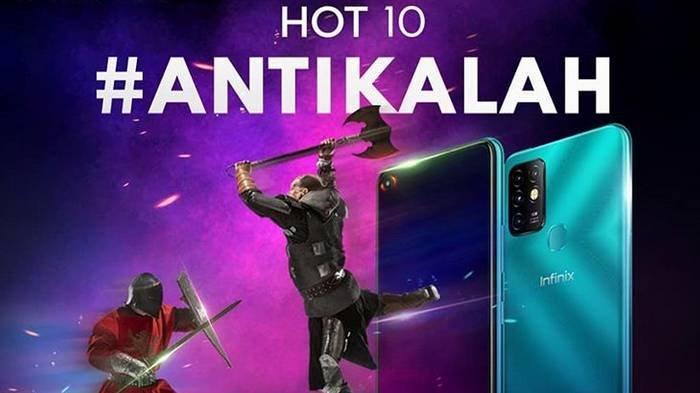 Spesifikasi Infinix Hot 10 yang akan Rilis di Indonesia, Cocok Bagi Pecinta Game, Harga Rp 1 Jutaan