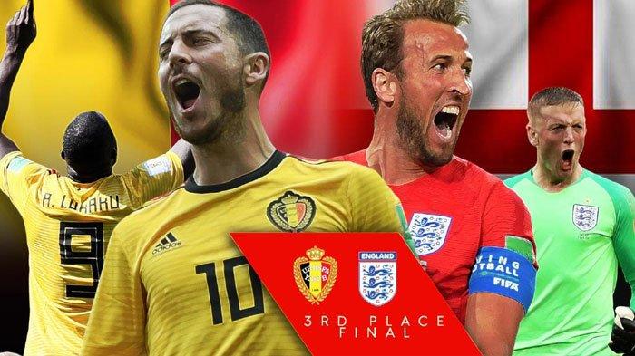 5 Fakta Perebutan Peringkat 3 Piala Dunia 2018 Belgia vs Inggris, Sama-sama Pernah Telan Pil Pahit!