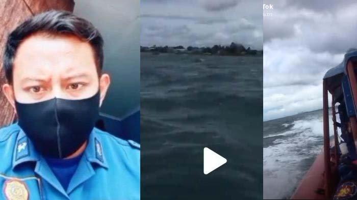 Pengakuan Petugas Damkar setelah Video Dengar Suara 'Tolong' di Laut Viral: Ikhlas Bukan Cari Nama