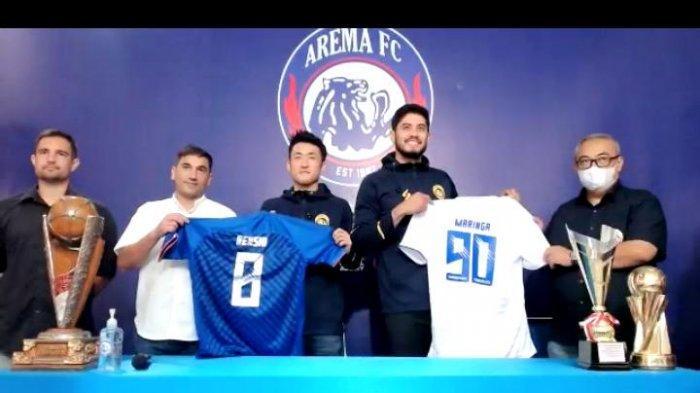 Pagi Ini, Arema FC Akan Perkenalkan Satu Pemain Asing Barunya