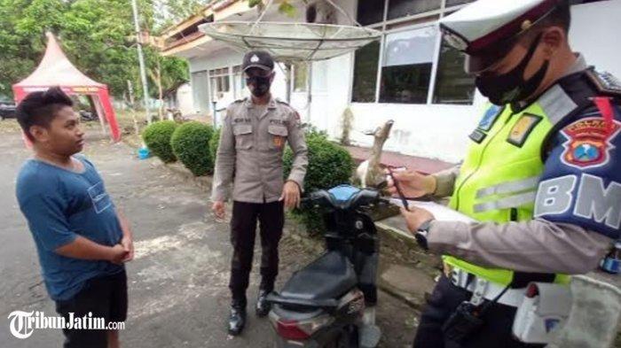 'Cium Aspal' Lantaran Grogi Ketemu Polisi, Pemuda Lumajang Ini Sampai Keringat Dingin Akui 3 Hal