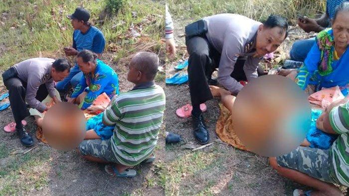 Mengenal SosokIpda BJ Handoko, Polisi yang BantuWanita Bojonegoro Melahirkandi Tepi Jalan Hutan