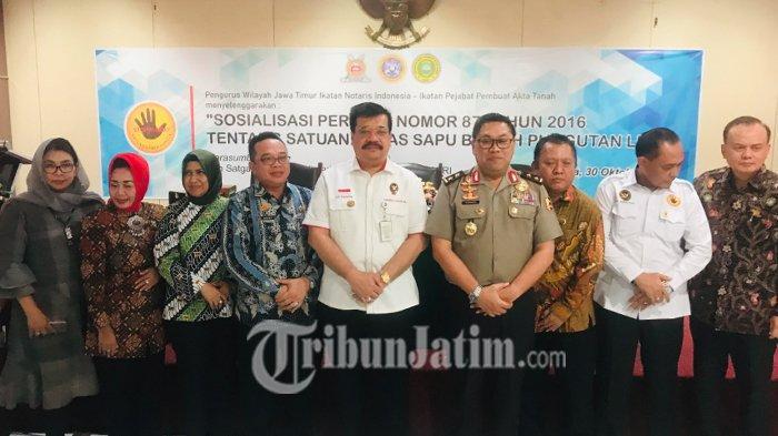 IPPAT dan INI Jatim Gelar Sosialisasi Bebas Pungli di Unair, Tekankan Anggota Antisipasi Pungli