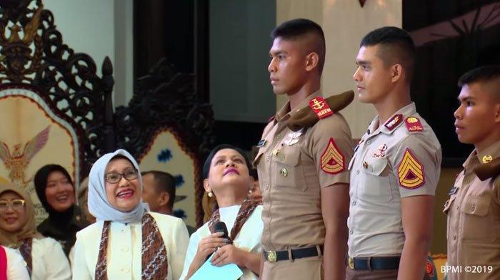 Iriana Jokowi Terperangah Lihat Taruna Akademi Angkatan Udara Setinggi 190 Senti: Hah?