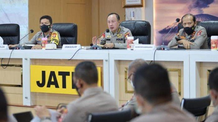 Rapat dengan Tim Supervisi Mabes Polri, Kapolda Jatim Beber Mekanisme Operasi Ketupat Semeru 2021