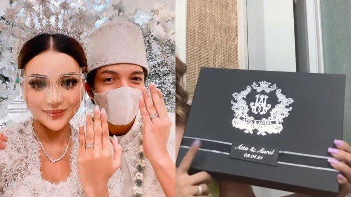 Mengintip Souvenir Nikahan Atta Halilintar dan Aurel Hermansyah, Kotak Mewah Isi Kacang & Bakpia