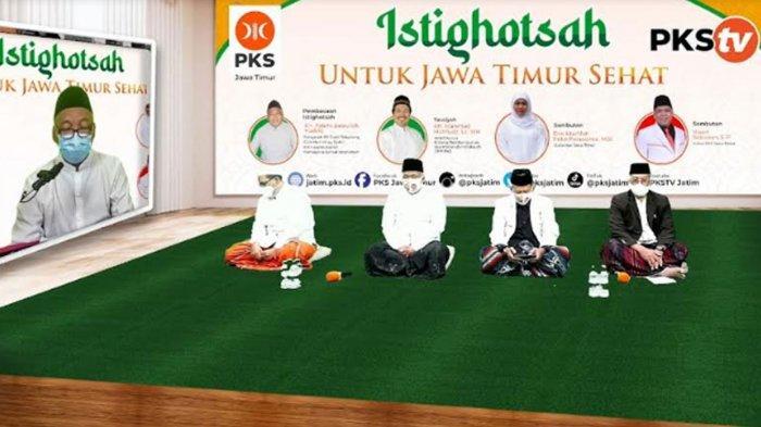 DPW PKS Jatim Melangitkan Doa-doa Agar Covid-19 Segera Hilang, 'Istighotsah untuk Jawa Timur Sehat'