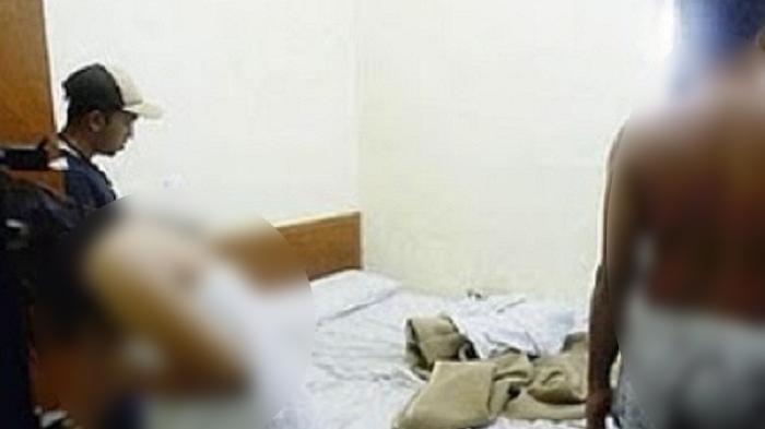Istri polisi digerebek suaminya sendiri di ranjang ditemukan kondom dan spray