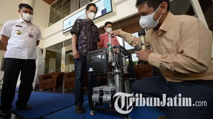 ITS Surabaya Ciptakan OXITS, Alat yang Dapat Menghasilkan Oksigen Murni, Bisa Bantu Pasien Covid-19