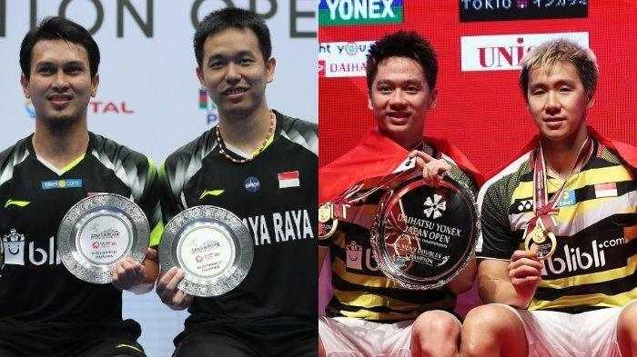 LIVE STREAMING Semifinal Hong Kong Open 2018, Marcus/Kevin Vs Ahsan/Hendra, Laga Mulai Jam 19.45 WIB