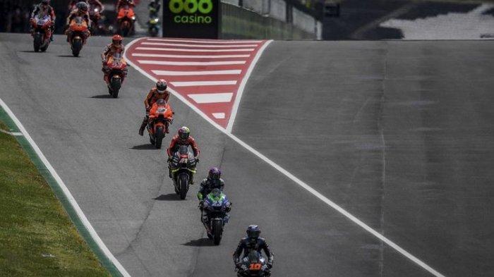 Starting Grid MotoGP Portugal 2021 - Quartararo Terdepan, Marquez Baris Kedua, Rossi ke-17