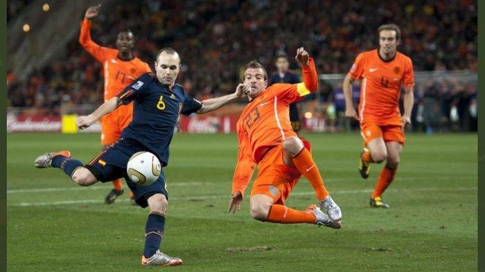 Link Live Streaming Belanda Vs Spanyol, Catatan 5 Laga Terakhir De Oranje dan La Furia Roja