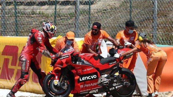 Nasib Jack Miller Usai Jahitan Operasi Robek saat Crash di MotoGP Portugal 2021, Absen di Jerez?