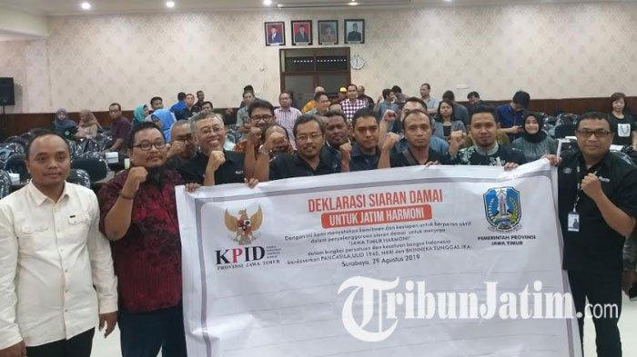 Redam Tensi Konflik Papua, KPID Jatim Ajak Lembaga Penyiaran Komitmen Sajikan Informasi Menyejukkan