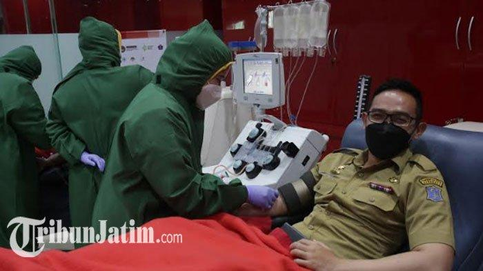 Februari Ini Bulan Plasma Konvalesen di Surabaya,Puluhan ASN Pemkot Mulai Lakukan Donor Plasma
