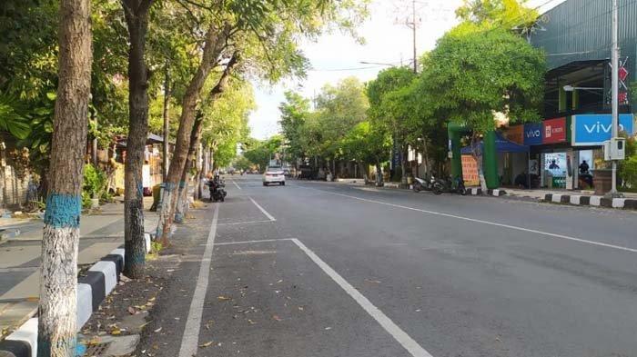 PPKM Darurat, Jalanan Lamongan Sepi, Mobilitas Masyarakat Turun, Kapolres: Kesadaran yang Luar Biasa