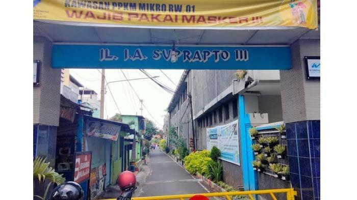 Delapan Warga Rampal Celaket Kota Malang Positif Covid-19, Kampung Terapkan Lockdown