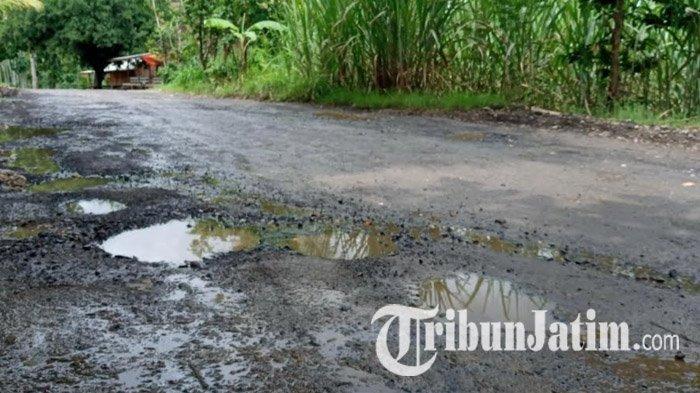 Musim Hujan, Jalan di Kabupaten Malang Rawan Rusak, Pemkab Akui Kualitas Material Jalan Tak Bagus