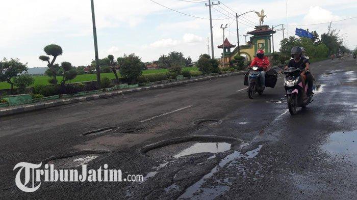 Diprotes Pengendara Karena Jalan Nasional Rusak, Begini Jawaban Dinas PU Bina Marga Sumenep
