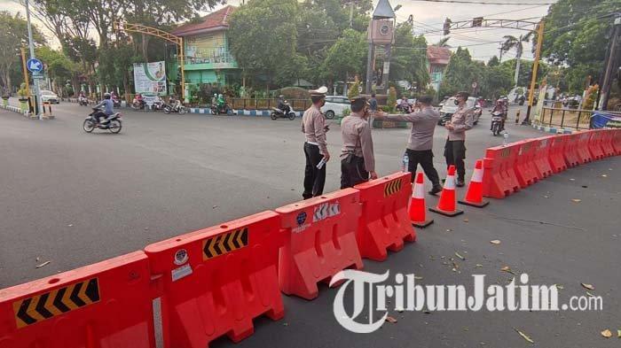 PPKM Darurat, Sejumlah Jalan di Probolinggo Ditutup, Akses ke Situbondo Dialihkan ke Jalur Utara