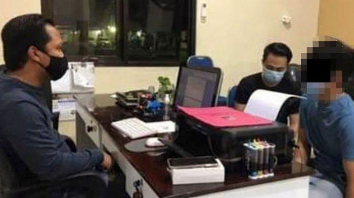 Pemuda Jambret Hp Polwan Polresta Mojokerto, Dibekuk Saat Sembunyi di Kamar Kos Wilayah Sidoarjo