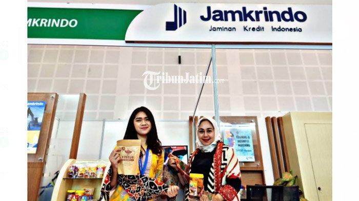 Ikuti Gelaran Indo Livestock 2019, Perum Jamkrindo Pamerkan Produk Kemitraan Batik Wistara dan IKM