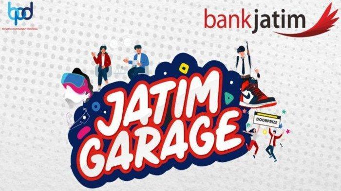 Bank Jatim Gelar 'JATIM GARAGE', Ada Kompetisi PUBG hingga Giveaway Sneakers, Klik Ini untuk Daftar