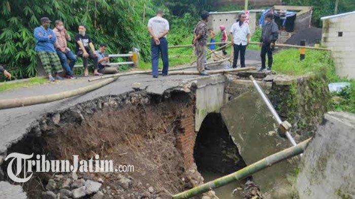 Jembatan Ambrol di Bandulan akan Segera Diperbaiki, Target Selesai Sebelum HUT Kota Malang 2021