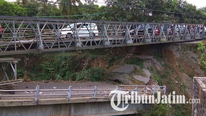 Pembahasan Pembangunan Jembatan Jeli yang Putus Tahun 2017 Tunggu Bupati Kediri Baru