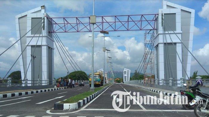 Siang Ini Jembatan Brawijaya Kota Kediri Mulai Dilakukan Uji Coba