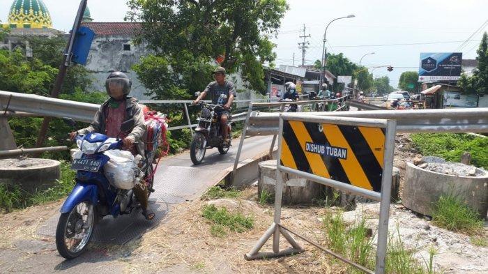 Enam Bulan Tak Ada Perbaikan, Begini Kabar Jembatan Glendeng Penghubung Tuban-Bojonegoro yang Putus