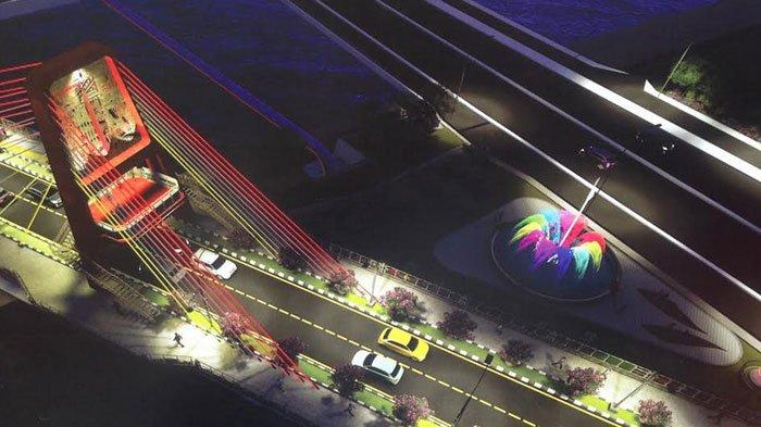 Jembatan Joyoboyo Ikon Baru Surabaya Tetap Digarap di Tengah Pandemi, Target Tuntas Desember 2020