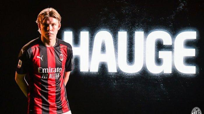 Jadi Korban Kedatangan Mandzukic, Hauge Dicoret AC Milan Dari Skuad Liga Europa