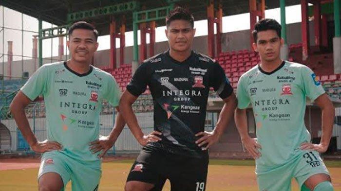 Makna Filosofis Jersey Baru Madura United Warna Biru Tosca, Tersirat Harapan Juara Liga 1 2020