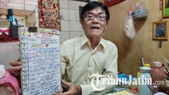 Imlek 2572, Jiamsi TITD Kwan Sing Bio Tuban Meneropong Politik Hingga Ekonomi di Tahun Kerbau Tanah
