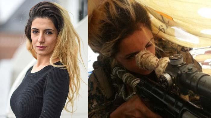 Fakta Joanna Palani, Sniper Cantik yang Habisi 100 Anggota ISIS, Kisah Masa Kecilnya Bikin Pilu!
