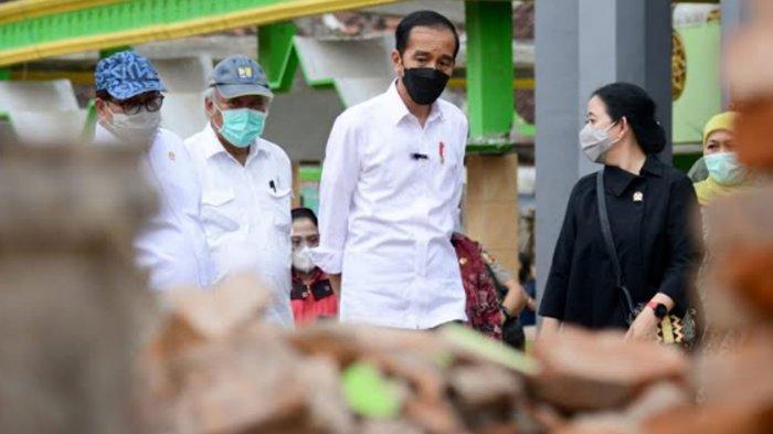 Presiden Jokowi Janjikan Bantuan Perbaikan Rumah Terdampak Gempa di Kabupaten Malang: Dikerjakan Mei