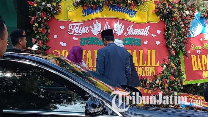BREAKING NEWS -  Presiden Jokowi Hadiri Pernikahan Putri Rais Aam PBNU KH Miftakhul Akhyar