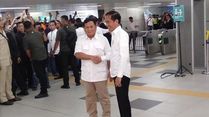 Senada dengan Jokowi, Prabowo Tegaskan Tak Ada Lagi 'Cebong' dan 'Kampret': Semuanya Merah-Putih