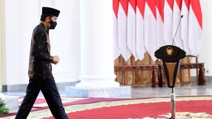 Dimana Jokowi saat Puncak Demo UU Omnibus Law Ricuh? Isu Kabur Terbantah, Staf Presiden: Bukan Lari