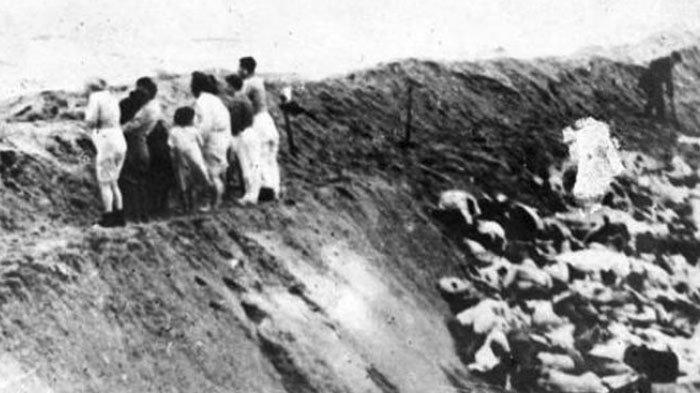 33 Ribu Warga Yahudi Ukraina Ditelanjangi, Dipaksa Serahkan Harta ke Tentara Jerman, Lalu Dibunuh