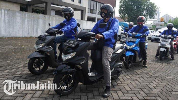 Silaturahmi dengan Media, Yamaha Jatim Gelar Fun Touring, Ajak Uji Ketangguhan FreeGo ke Trawas
