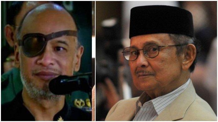 Kabar BJ Habibie Donorkan Mata untuk Thareq Kemal Habibie Beredar, Pihak Keluarga Beri Klarifikasi