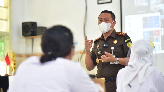 Uji Coba Pembelajaran Tatap Muka Digelar di Surabaya, Giliran Kajari Tanjung Perak Masuk Sekolah