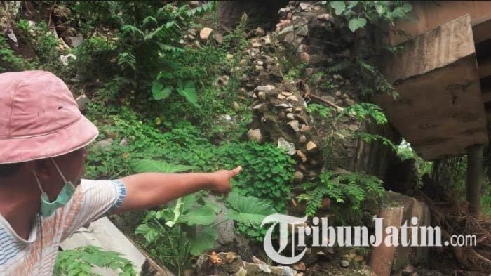 Gunung Wilis Diguyur Hujan, Penopang Jembatan Bailey Koneksi Tulungagung dan Trenggalek Ambrol